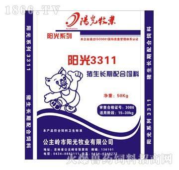 阳光-育肥中猪配合饲料3311