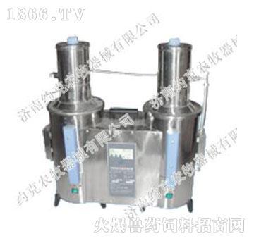 不锈钢双蒸馏水机