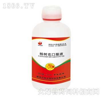 杨树花口服液-主治心包炎、肝周炎、仔猪黄痢、白痢