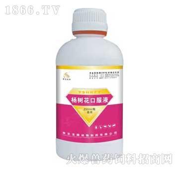 杨树花口服液-化湿止痢、主治畜禽肠炎、痢疾