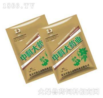 麻杏石甘散-猪的呼吸道感染专用药