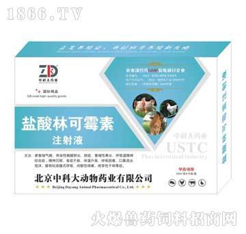 盐酸林可霉素注射液-用于畜禽细菌性疾病和支原体病