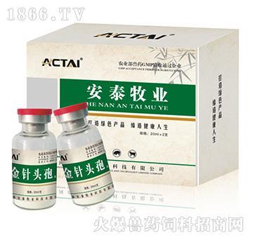 金针头孢-鸡大肠杆菌、白痢、副伤寒特效药