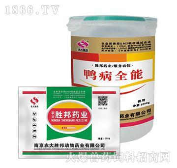 鸭病全能-主治禽肝周炎、腹膜炎、气囊炎、肠炎 、输卵管炎、卵黄性腹膜炎