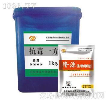 抗毒一方-主治禽热性病、感冒、病毒性肠炎、传染性喉气管炎