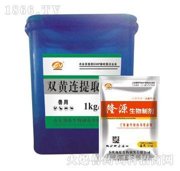 双黄连提取物-清热解毒、凉血利咽、退热消肿