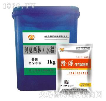 阿莫西林(水貂专用)-主治溃疡性肠炎、子宫内膜炎