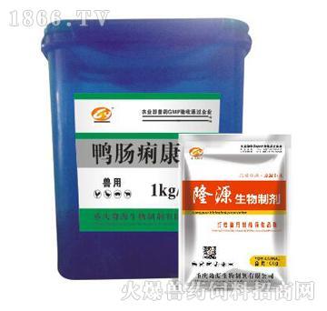 鸭肠痢康-主治肠炎、拉稀、拉血便、饲料样便