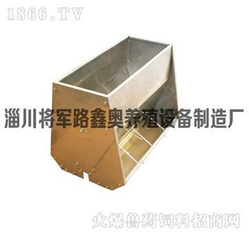 保育专用不锈钢单面料槽
