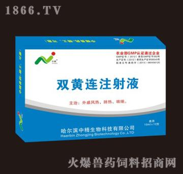双黄连注射液-主治外感风热、肺热、咳喘