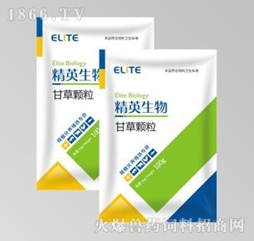 甘草颗粒-主治传染性支气管炎、传染性喉气管炎