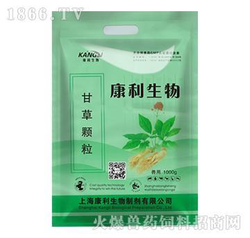 甘草颗粒-防治猪流行性感冒、繁殖与呼吸障碍综合症