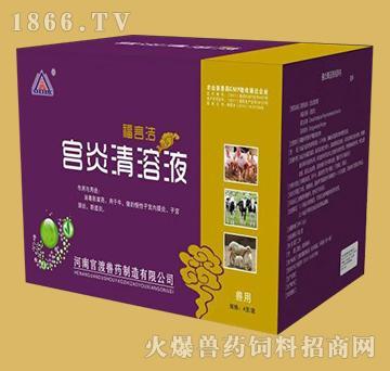 宫炎清溶液-消毒防腐药、主治牛、猪宫颈炎、阴道炎