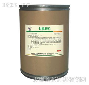 甘草颗粒-用于防治猪气喘病、传染性胸膜肺炎、传染性萎缩性鼻炎