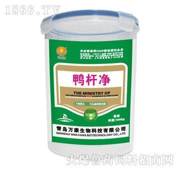 鸭杆净-用于鸭鹅大肠杆菌引起的黄白绿痢、肠炎、腹泻