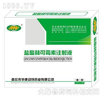 盐酸林可霉素注射液-猪链球菌、传染性胸膜肺炎**