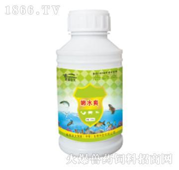 嫩水爽-改良池底水质,稳定水体pH值