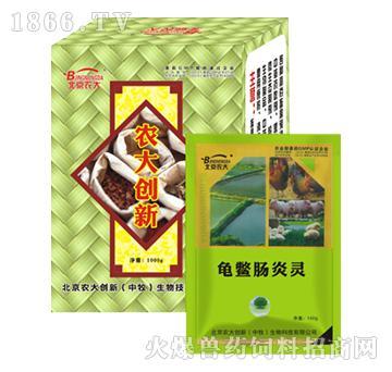 龟鳖肠炎灵-主治出血性肠炎、坏死性肠炎