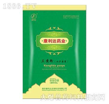 三黄粉(水产专用)-恢复食欲,减少胃肠消化不良引起的拖便