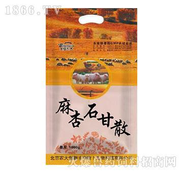 麻杏石甘散-主治鸡新城疫,鸡流行性感冒