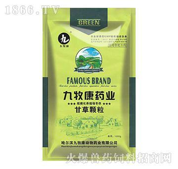 甘草颗粒-用于防治猪气喘病、传染性胸膜肺炎、传染性萎缩性鼻炎、链球菌病