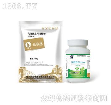 乌洛托品可溶性粉-用于肾型传支、法氏囊、中毒等引起的肾脏肿大、尿酸盐沉积