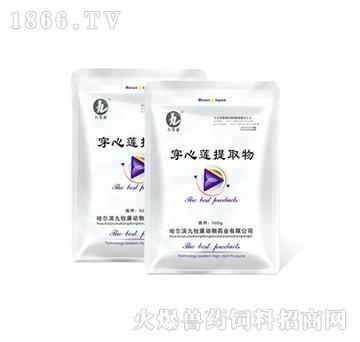 穿心莲提取物-清热解毒、除湿化滞、抑菌、消炎