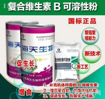 复合维生素B可溶性粉-用于防治B族维生素缺乏所致的多发性神经炎