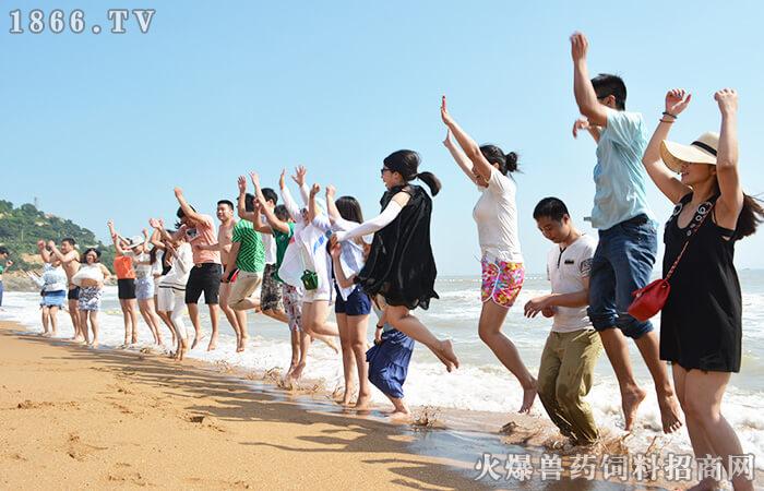 """海边沙滩--清凉一""""下"""""""