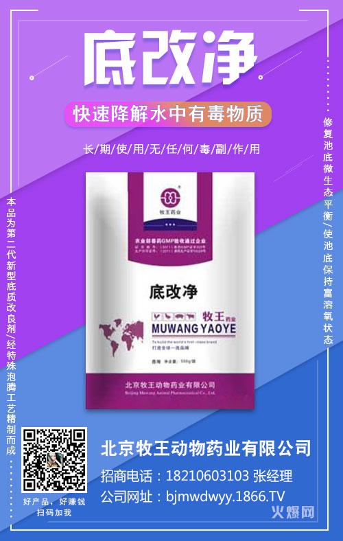 北京牧王动物药业有限公司-底改净-397621-6月21日