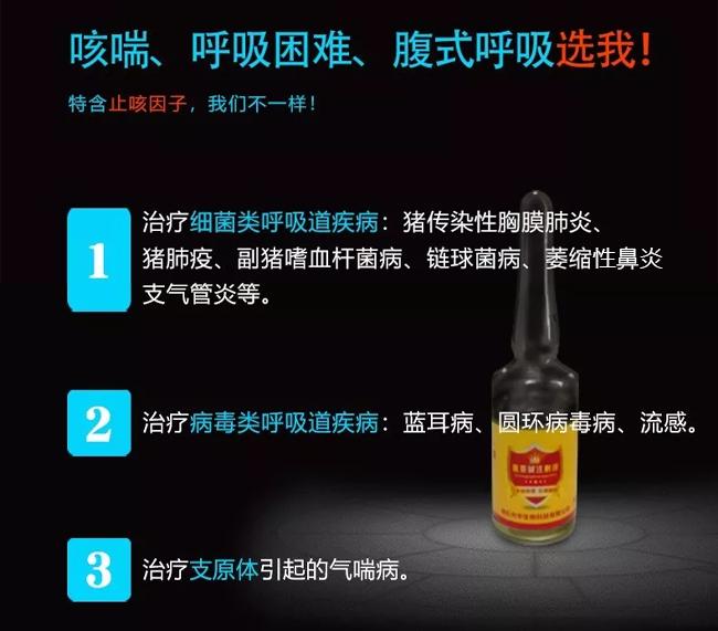 金喘康-主治任何原因引起的咳喘、呼吸困难、腹式呼吸