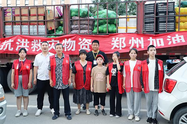 山西易康药业大爱勇担当,十余吨蔬菜物资送前线!