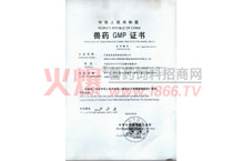 兽药GMP证书