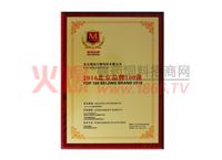 2016北京品牌100强证书