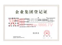 上海伟农集团登记证