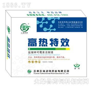 高热特效-清热解毒、解热镇痛、抗菌消炎、增强免疫