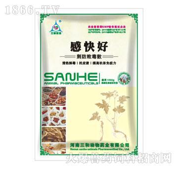 感快好-(荆防败毒散)-用于禽流行性感冒、新城疫、黄白痢