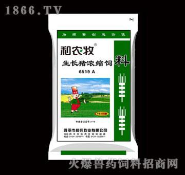 生长猪浓缩饲料-6519A-和农