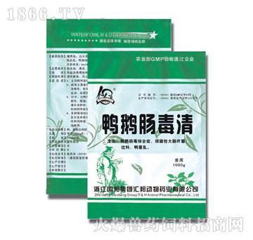 鸭鹅肠毒清-主治鸭传染