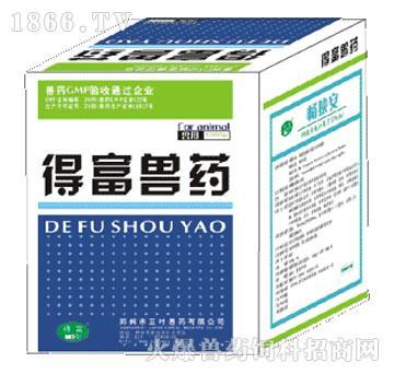 畅独安-主治肠毒综合症、坏死性肠炎、大肠杆菌、白痢