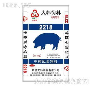大韩-中猪配合饲料22