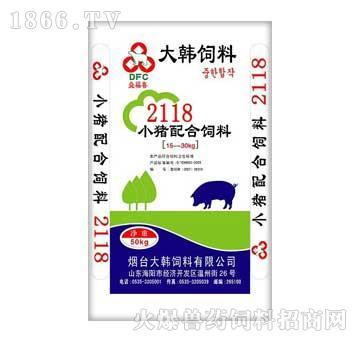 大韩-小猪配合饲料21