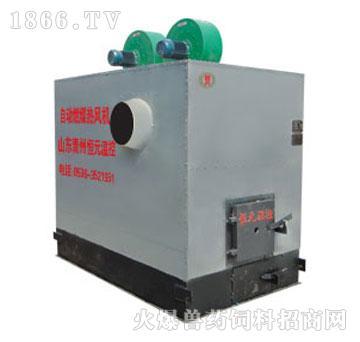 风暖型高效燃煤热风机-