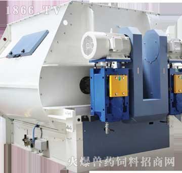 SLHS系列双电机直联型双轴桨叶式混合机-龙泰