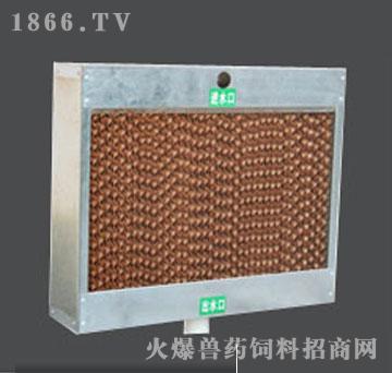 镀锌板框架湿帘-华利