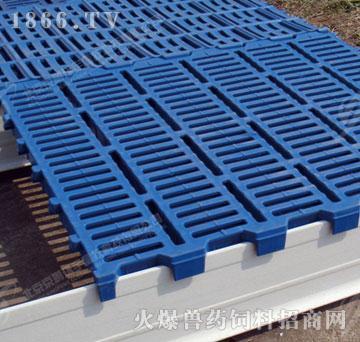 塑料漏缝地板-京鹏