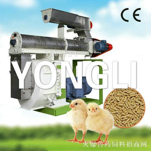 鸡饲料制粒机-永立
