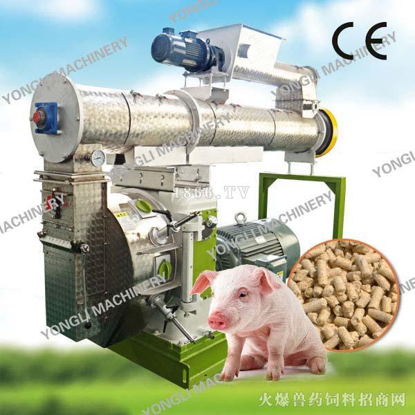 畜禽饲料制粒机-永立