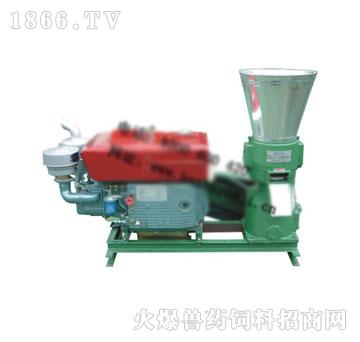 木屑颗粒机ZLMP230A(带柴油发动机)-吉姆克