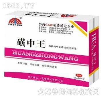 磺胺间甲氧嘧啶注射液(